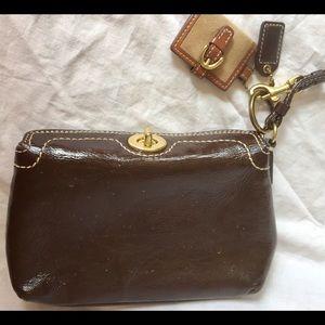 Coach Bags - Authentic Coach Brown Designer Wristlet/Wallet